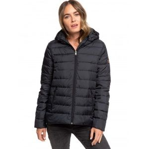 Michael Kors Black Down Feather Puffer Jacket MED